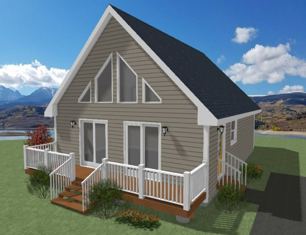 Chalet and Cape Cod Plans